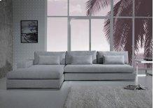 Divani Casa Ashfield - Modern Fabric Sectional Sofa