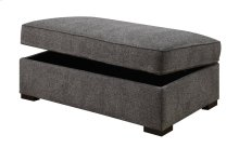 Emerald Home Calvina Storage Ottoman W/hidden Castors Grey U4242-22-03