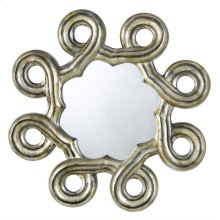 FORMIA HEXAGON PU BEVELED MIRROR