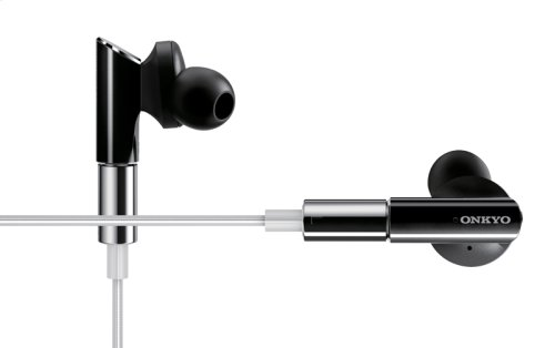 In-Ear Headphones (Black / Silver Cable)