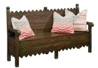 Barndoor Scallop Bench Product Image