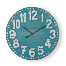 Clifford Clock, Turquoise