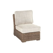 Armless Chair w/Cushion