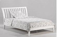 Nutmeg Bed in White Finish