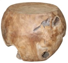Aisling Natural Wood Stool