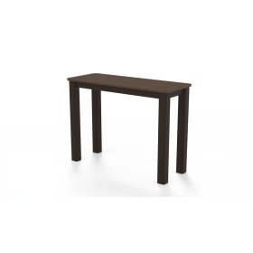 """Marine Grade Polymer Top Table 10"""" x 27"""" Chaise Table"""