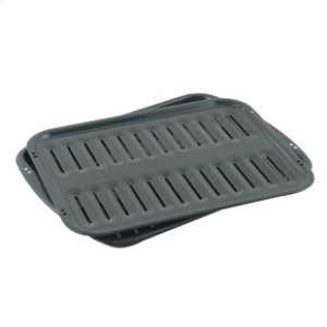 AmanaPorcelain Broiler Pan & Grid