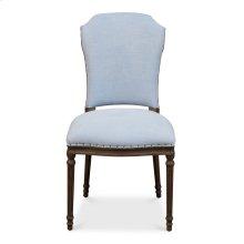 Emilion Dining Side Chair, Dusty Blue