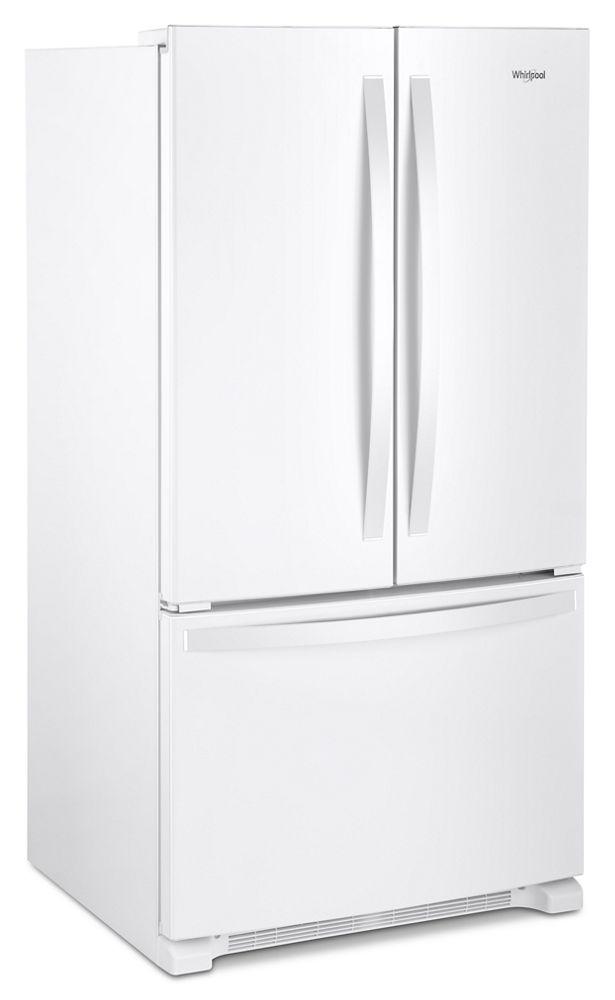 WHIRLPOOL 36 Inch Wide Counter Depth French Door Refrigerator   20 Cu. Ft.