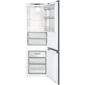"Smeg24"" Fully Integrated Refrigerator/Freezer"