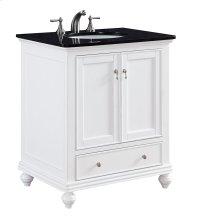 30 in. Single Bathroom Vanity set in White