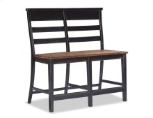 Winchester Ladder Back Counter Height Bench