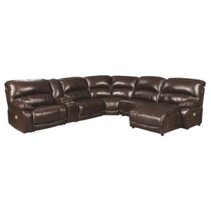 AshleySIGNATURE DESIGN BY ASHLEYHallstrung 6-piece Power Reclining Sectional With Chaise