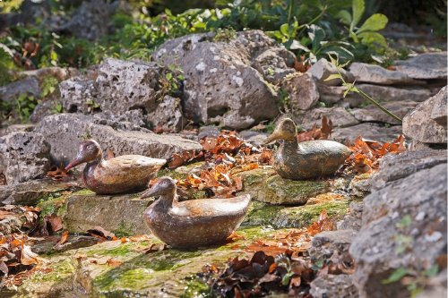 Rustic Duck Decoys - Ast 3