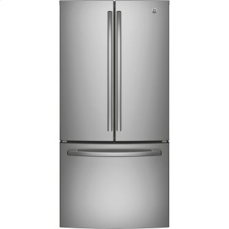 GE 24.8 cu.ft. French Door Refrigerator Stainless Steel GNE25DSKSS