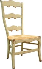Isabella Side Chair with Rush Seat Product Image