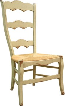 Isabella Side Chair with Rush Seat