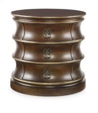 Barrel Chairside Chest Product Image