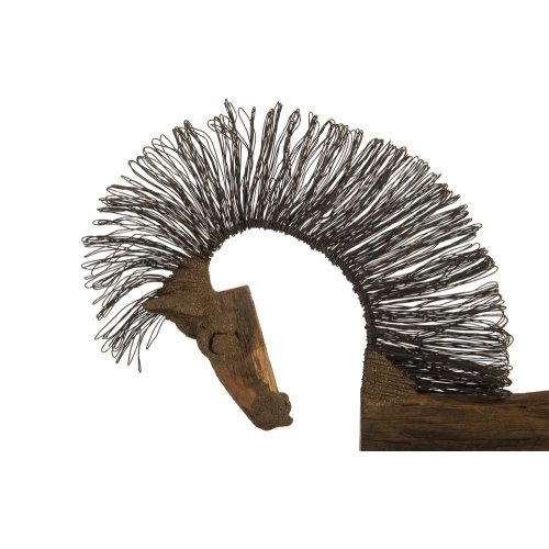 Wire Horse Sculpture, Long Body