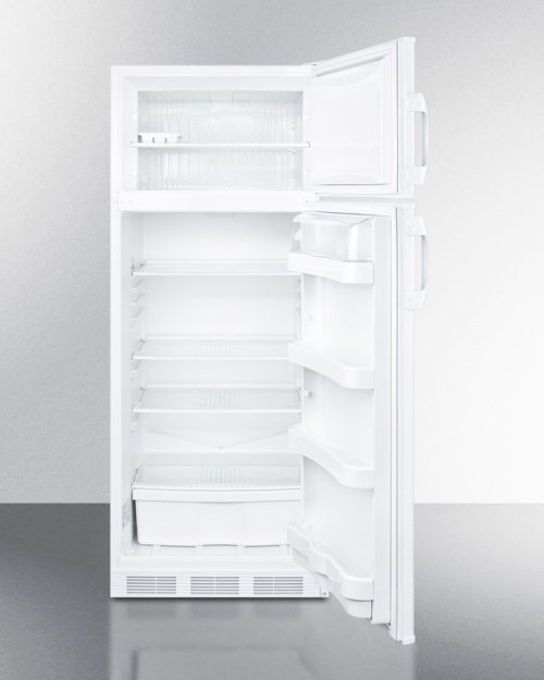 """Two-door Refrigerator-freezer With Cycle Defrost and Slim 24"""" Width"""