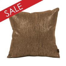"16"" x 16"" Pillow Glam Chocolate"