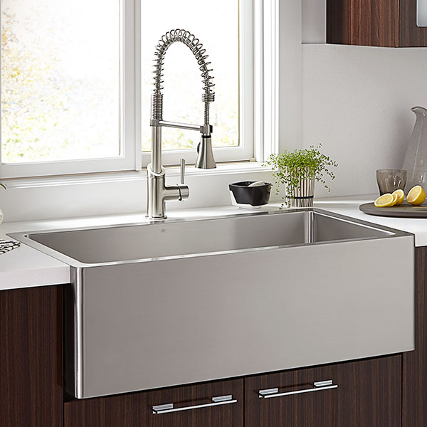 d35140036075 in stainless steel by dxv in cincinnati oh hillside rh norwoodhardware com 36 inch kitchen sink base cabinet 36 inch stainless steel kitchen sinks