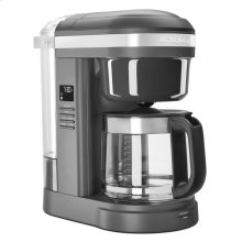 12 Cup Drip Coffee Maker with Spiral Showerhead - Matte Charcoal Grey