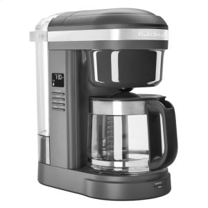 Kitchenaid12 Cup Drip Coffee Maker with Spiral Showerhead - Matte Charcoal Grey