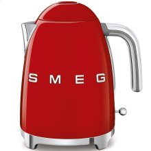 Smeg 50s Retro Style Design Aesthetic Electric Kettle, Red