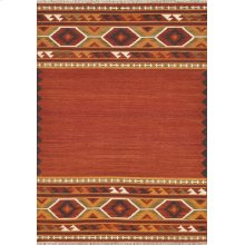 Red / Gold Rug