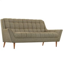 Response Upholstered Fabric Loveseat in Oatmeal
