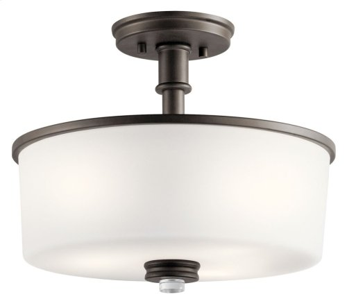 Joelson 3 Light Semi Flush Olde Bronze®