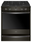 5.8 Cu. Ft. Smart Slide-in Gas Range with EZ-2-Lift Hinged Cast-iron Grates Product Image