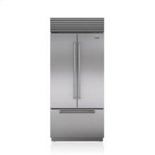 "36"" Classic French Door Refrigerator/Freezer with Internal Dispenser"