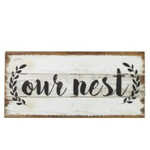 """""""Our Nest"""" Wall Decor"""