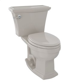 Clayton® Two-Piece Toilet, 1.6 GPF, Elongated Bowl - Bone
