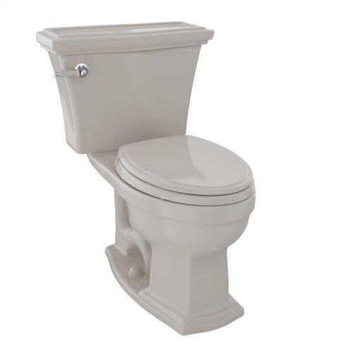 Eco Clayton® Two-Piece Toilet, 1.28 GPF, Elongated Bowl - Bone