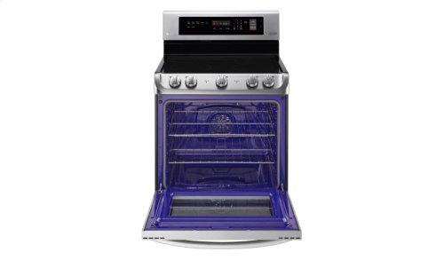 6.3 cu. ft. Electric Single Oven Range with ProBake Convection® and EasyClean®
