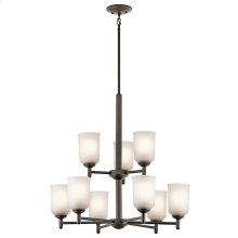 Shailene Collection Shailene 9 Light Chandelier - Olde Bronze OZ