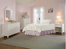 Westfield 4pc Full Bedroom With Metal Bed