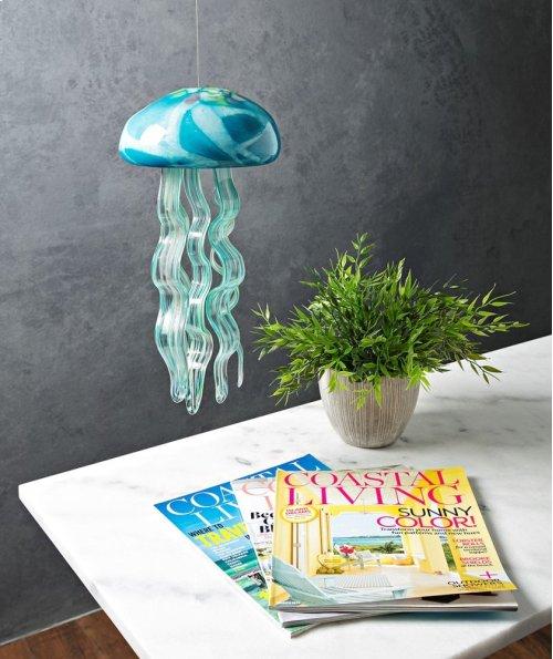 Jellyfish Large Glass Windchime