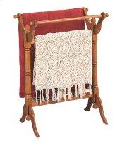 """""""Nostalgic Oak"""" Blanket Rack Product Image"""