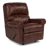 Markham Leather Swivel Gliding Recliner