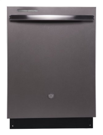 Slate - Built-In Tall Tub Dishwasher with Stainless Steel Tub