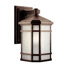 "Cameron 14.25"" 1 Light Wall Light Prairie Rock"