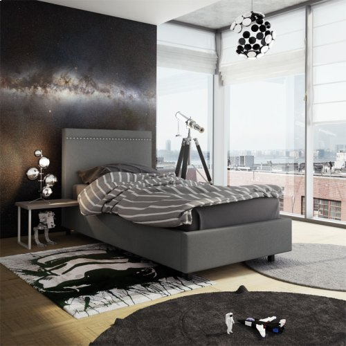 Gastown Upholstered Bed - Twin