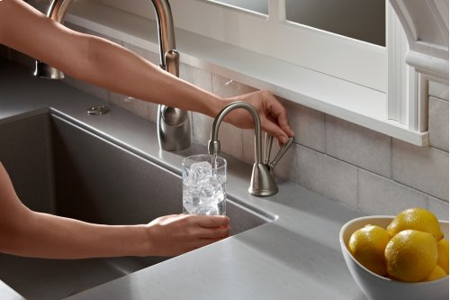 HC View Instant Hot and Cool Water Dispenser - Satin Nickel
