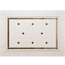 "Dots 1"" - Backsplash Silicon Bronze Brushed"