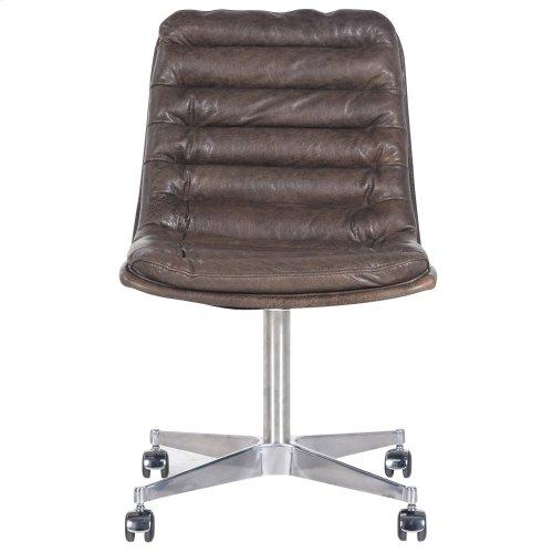 Pampas Charcoal Cover Malibu Desk Chair