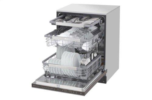 LG STUDIO Top Control Smart wi-fi Enabled Dishwasher with QuadWash